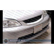 Civic 01 OEM ABS front lip