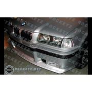BMW E36 M3 style Front bumper 2pcs 2/3/4D