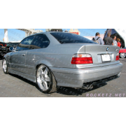 BMW E36 M3 style Rear bumper 2/4D