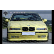 BMW E36 RG style Front lip for base bumper 2/3/4D