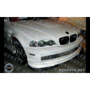 BMW E46 99+ HM style Front lip 2D