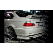 BMW E46 99+ HM style Rear half bumper apron 2D