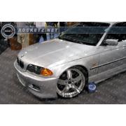 BMW E46 99+ M3 style Front bumper 2/4D