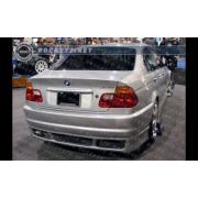 BMW E46 99+ RG M3 style Rear bumper 2/4D