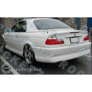 BMW E46 99+ MVR style Rear half bumper apron 2D