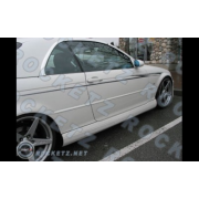 BMW E46 99+ MVR style Side skirts 2/D