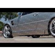 BMW E46 RD2 99+ style 2/4D Side skirts