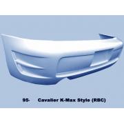 Cavalier 95-02 KM style Rear bumper 2/4D