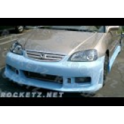Civic 01 N1 style Front bumper
