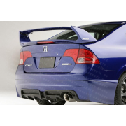 Civic 06-08 M style Rear bumper 4D