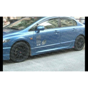 Civic 06-08 M style Side skirts 4D