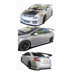 Civic 06-08 RV style 2 door 4-pc kit