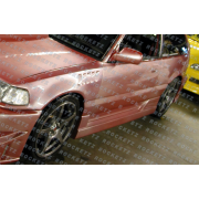 Civic 88-91 BC style Side skirts 3D