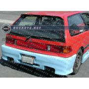 Civic 88-91 Spyder style Rear bumper 3D