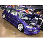 Civic 88-91 CB style Side skirts 3D
