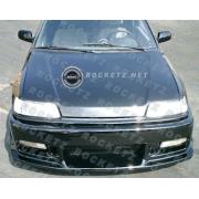 Civic 88-91 N1 style Front bumper 3D