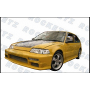 Civic 88-91 M style Side skirts 3D