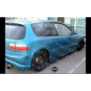 Civic 92-95 BA style Side skirts 3D