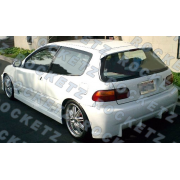 Civic 92-95 BC style Side skirts 2D