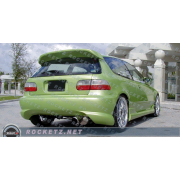 Civic 92-95 BX style Rear bumper 3D