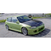 Civic 92-95 BX style Side skirts 3D