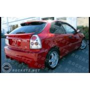 Civic 96-00 BC style Rear bumper 3D