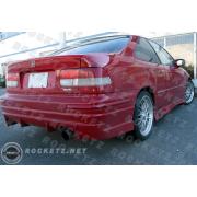 Civic 96-00 BC style Rear bumper 2/4D