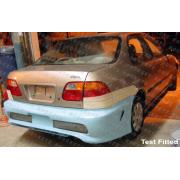 Civic 96-00 CB style Rear bumper 2/4D