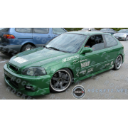 Civic 96-00 CW style Side skirts 2/3D