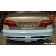 Civic 96-00 EX style Rear bumper 2/4D