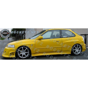 Civic 96-00 FS style Side skirts 2/3D