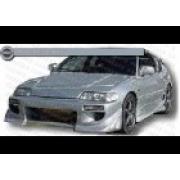 CRX 88-91 BZ style Front bumper 3D