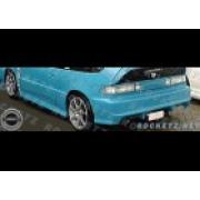 CRX 88-91 EX style Rear bumper 3D