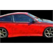 CRX 88-91 M style Door Caps 3D