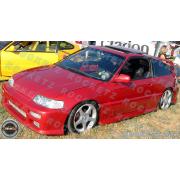 CRX 88-91 M style Front bumper 3D