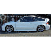 CRX 88-91 M style Side skirts 3D