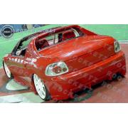 DelSol 93-96 BC style Rear bumper 2D