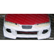 Prelude 92 BZ style Front bumper 2D