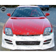 Prelude 97-02 R34 style Front bumper 2D