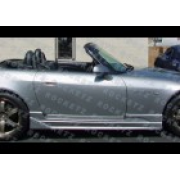 S2000 CW style Side skirts 2D