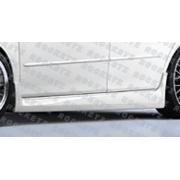 Mazda 6 03+ K style Rear half apron 4D