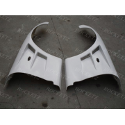 Mazda RX7 FD3S B Style +30mm Style Front Fenders FRP