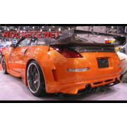 350Z 03+ Vader3 style R/B+Muffler Cover