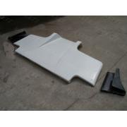 Nissan R32 Skyline GTR TS style Rear Diffuser (3pcs) CARBON FIBER
