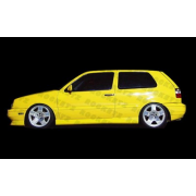 Golf 3 93-98 A style Side skirts 3D