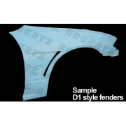 Civic 92 Spyder2 style Front Fender 2/3D