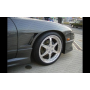 240sx 89-94 DM style 40mm+ Front Fenders for Flip-up headlights
