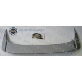 Integra 94-01 3-pc low spoiler w/ light 2D