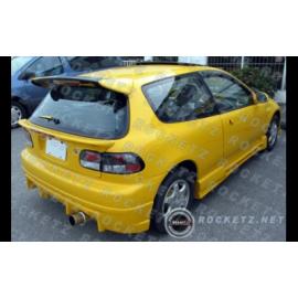 Civic 92-95 Mid spoiler w/light 3D