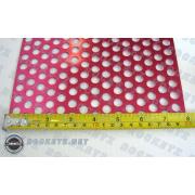 Aluminum Mesh 03 red 120*20cm